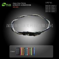 China Health Movement Jewelry Name :Two-color necklace wholesale