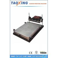 China TX-6080type Manual Screen Printing Table 41720491416 wholesale