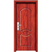 China solid wooden compound door HF-9007 wholesale