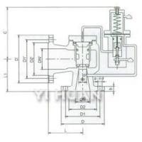 China A46C Type Pilot-Operated Pressure Relief Valve wholesale