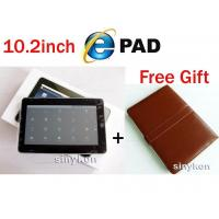 "China MID Google Android ZT-180 10.2"" Notebook+Leather protect case as free gift wholesale"
