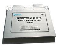 China BSS-RLFP100Ah Soft-packed Lithium-ion Battery wholesale