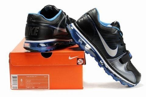 Quality Nike Air Max Trainer 1 Mens Black Blue Sneakers for sale