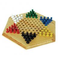 China Wooden Games Wooden Checkers wholesale