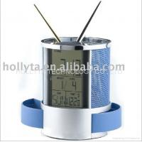 China Multifunctional Pen Holder with Digital countdown clock on sale