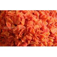 China Products: Dehydrated carrot flakes 10*10*2 wholesale
