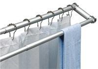 Wholesale DUO SHOWER CURTAIN ROD AND TOWEL RACK from china suppliers