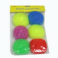 China Plastic cleaning ball wholesale