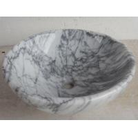 Buy cheap Sink Basin Bianco Carrara from wholesalers