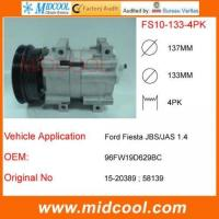 China FS10 auto air compressor FOR Ford Fiesta JBS/JAS 1.4 on sale