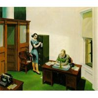 Edward Hopper's oil painting reproduction,100% hand made on linen canvas. Item No.:EH012