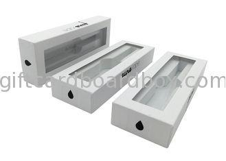 China Folding Empty Pen Presentation Box / Long Cardboard Boxes For Packing