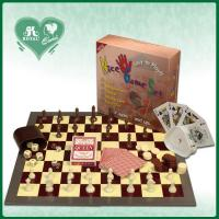 China 5 in 1 Chess Game Set: Chess Backgammon Checker Playing cards Poker dice (DK501) wholesale