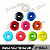 China SKATERGEAR PU skateboard wheels with solid color Product No.:SG-SW01 wholesale