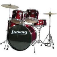 Buy cheap Drums Ludwig Accent 5 Piece Drum Set Silver from wholesalers
