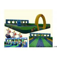China sports game inflatable horse racing wholesale