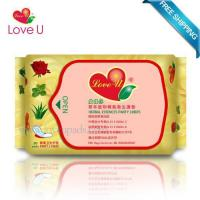 China Love U Herbal Essences Panty Liners 4 Packs=120 Pieces FDA Certificate Length 16.3cm wholesale