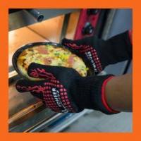 China Oven Gloves Heat Resistant and Certified to 932F Great as Smoking Gloves wholesale