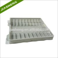 Factory price Medical Plastic Tray for medicine bottles with Clear Cover