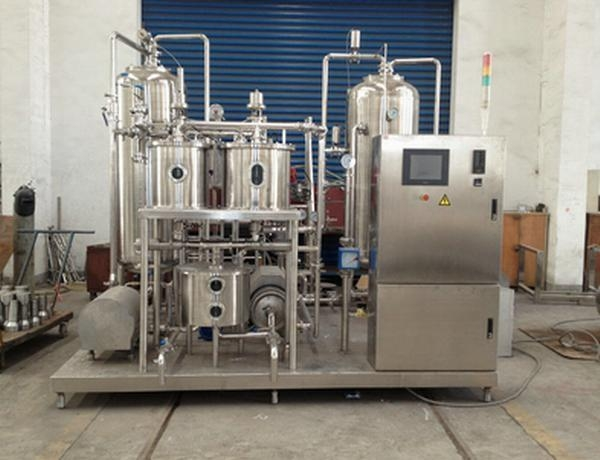 Quality Beverage blending system 500ml Beverage Mixing Machine For Soft Drink , Soda Water production line for sale