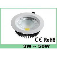 Buy cheap High Lumen COB LED Down Lights / Lamp Energy Saving 20 Watt 1500 LM with CE & RoHS from wholesalers