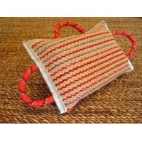 China Dog bite pad made of jute with 3 handles wholesale