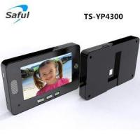 China digital door viewer peephole viewer Saful TS-YP4300 4.3 inch digital video door viewer on sale