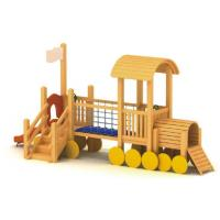 China wooden playground sets for backyards Wooden Playground-C wholesale