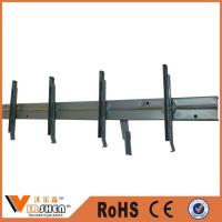 China Window inbuilt security steel louver frame on sale