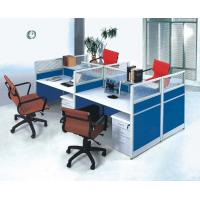 China Classic Office desk Furniture Aluminum workstation 4 Person Office Partition HX-J836 on sale