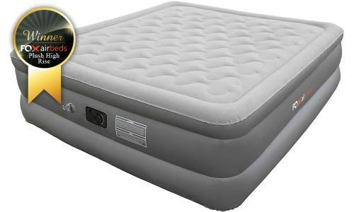 Plush High Rise King Air Mattress With Pump Of Airbeds4less