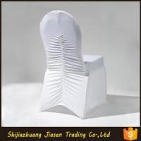 China Ruffled Spandex Chair Cover wholesale