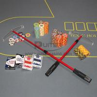 Wholesale Red Telescop Roulette Chip Rake from china suppliers