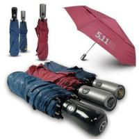 China 190T Pongee Fabric WindProof Auto Open/Close Travel folding umbrella wholesale
