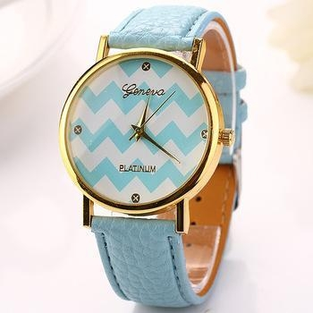 Quality Wholesale Geneva Leather Certificate Offer Good Quality Western Watch Price for sale
