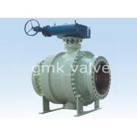 China Cast Steel Trunnion Mounted Ball Valve wholesale