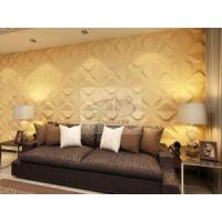 China Paintable Decorative PVC 3d Wall Panels/Boards For Home Interior Design wholesale