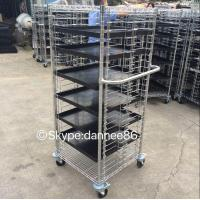 China Mobile Wire Shelving - 4 Tier wholesale