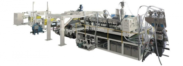 Quality PP/PE/PS/EVA/EVOH Multi-Layer Barrier Sheet Production Line for sale