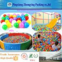China Kids Babies Children Colorful Plastic Soft Pit Balls Playing on sale