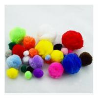 China craft pom pom,plush pompom,pompom maker wholesale