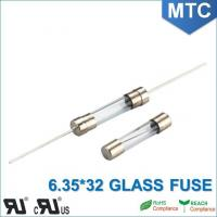 China MTC 6.0*30mm 6.35X32mm 0.1~30A Time-Lag Glass Fuse wholesale