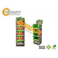 China Energy Drinks Free Standing Cardboard Displays / Foldable Display Stand wholesale