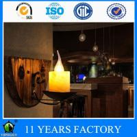 China Industrial Retro Rustic Loft Decorative Candel Wall Lighting with Metal Holder wholesale