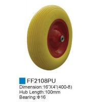 Rubber wheel/PU Foam Wheel FF2108PU