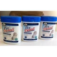 Oval canister Pet Dental Wipes