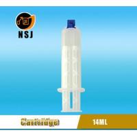 China Dental Cartridge 14ml 1:1 Disposable Double Dental Empty Silicone Syringe wholesale