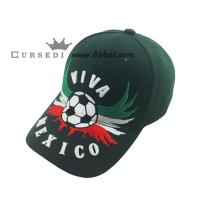 China Fashion Cheap Mexico football hat With good Embroidery on sale