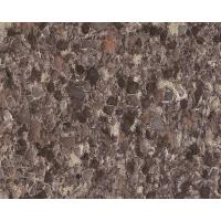 China Island love brown quartz stonePS7988 wholesale