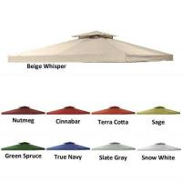 10 X 10 Universal Replacement Canopy 2-Tiered - RIPLOCK 350